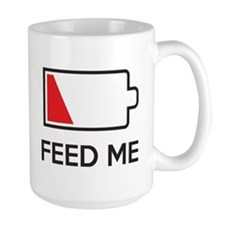 Feed Me Low Power Battery Mugs