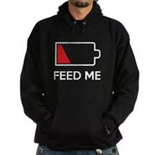 Feed Me Low Power Battery Hoodie