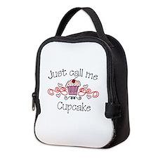 Just Call Me Cupcake Neoprene Lunch Bag