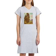 van gogh tree Women's Nightshirt