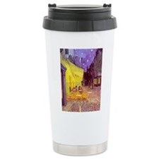 van gogh cafe terrace at night Travel Mug