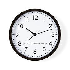 Lake Luzerne-Hadley Newsroom Wall Clock