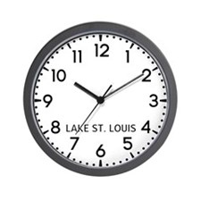 Lake St. Louis Newsroom Wall Clock