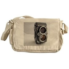 Vintage Camera Messenger Bag