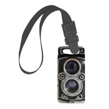 Vintage Camera Small Luggage Tag