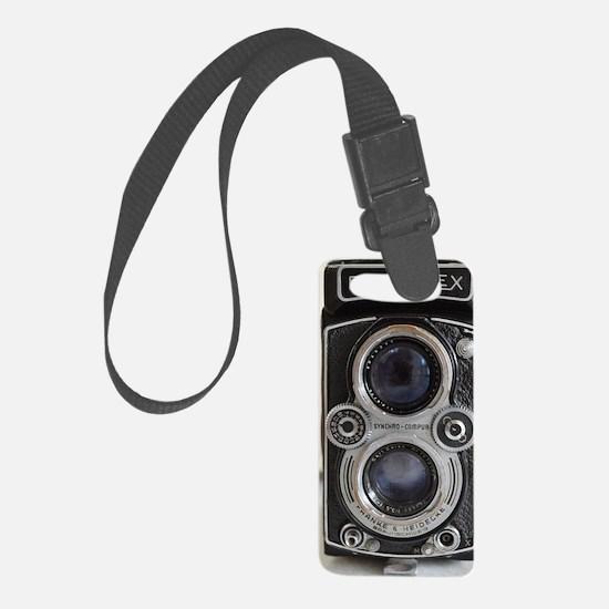 Vintage Camera Small Luggage Tag