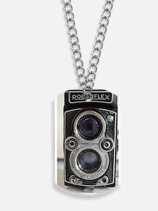 Vintage Camera Dog Tags