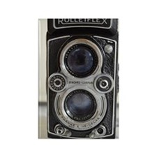 Vintage Camera Rectangle Magnet