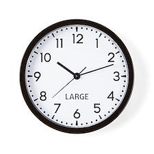 Large Newsroom Wall Clock