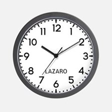 Lazaro Newsroom Wall Clock