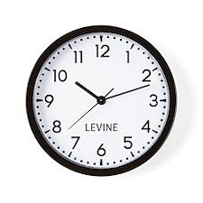 Levine Newsroom Wall Clock