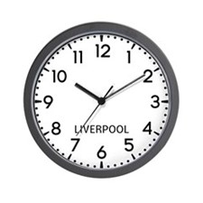 Liverpool Newsroom Wall Clock