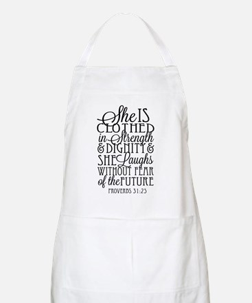 Clothed in Strength Dignity Apron