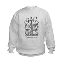 Clothed in Strength Dignity Sweatshirt