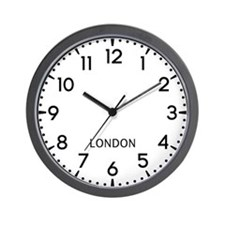 London Newsroom Wall Clock