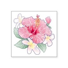 Hibiscus Band Sticker