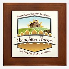 Laughton Farms Framed Tile