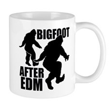 Bigfoot after EDM Mug