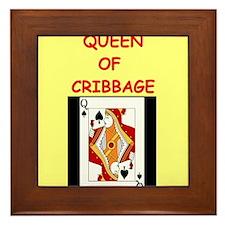 CRIBBAGE16 Framed Tile