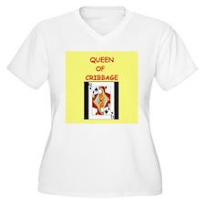 CRIBBAGE16 Plus Size T-Shirt