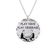 CRIBBAGE14 Necklace