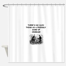 CRIBBAGE11 Shower Curtain