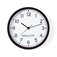 Mallett Newsroom Wall Clock