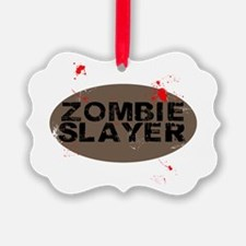 Zombie Slayer Ornament