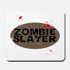 Zombie Slayer Mousepad