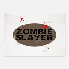Zombie Slayer 5'x7'Area Rug