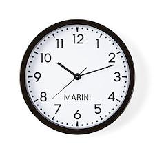 Marini Newsroom Wall Clock