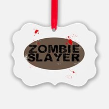 Zombie Slayers Ornament
