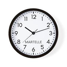 Martelle Newsroom Wall Clock
