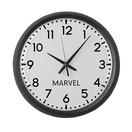 Marvel Newsroom Large Wall Clock
