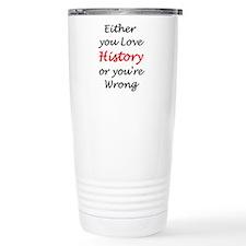 love history or Travel Mug
