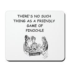 PINOCHLE10 Mousepad