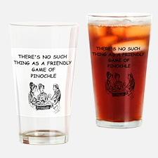 PINOCHLE10 Drinking Glass