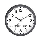 Mcclelland Wall Clocks