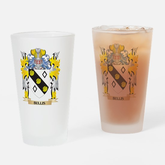 Bullis Coat of Arms - Family Crest Drinking Glass