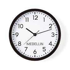 Medellin Newsroom Wall Clock