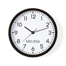 Melissa Newsroom Wall Clock