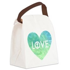 Love for Jesus Canvas Lunch Bag