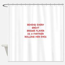 BRIDGE4 Shower Curtain