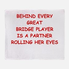 BRIDGE4 Throw Blanket