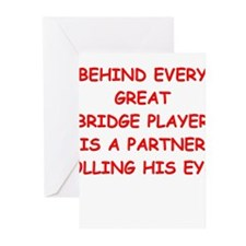 BRIDGE3 Greeting Cards