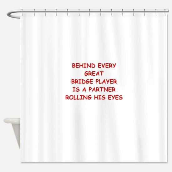 BRIDGE3 Shower Curtain