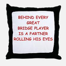BRIDGE3 Throw Pillow