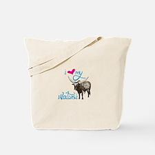 i love my Watusi Tote Bag