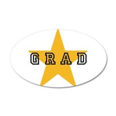 Grad Graduating Graduate Sta Wall Decal