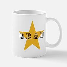 Grad Graduating Graduate Star Mug